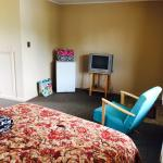 Room 11 was spacious with a beautiful view of the lake and drive up parking!