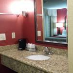 second sink in hallway