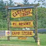 Circle Creek Sign