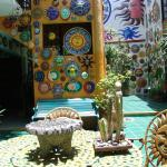 Patio central de Casa de los Soles