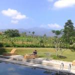 Lovely pool surrounding