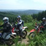 We were joined by some friends from the UK on the second day and this view is typical of the are