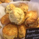 Amazing home made scones. Wish mine looked like this