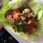 Delicious Thai food at Thai Village restaurant