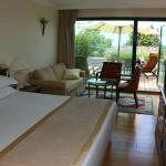 "Our ""Superior Double Tsameret Room with Private Terrace and Forest View"""