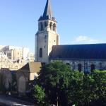 Vista desde nuestra habitación de la Iglesia St-Germain des Pres