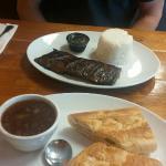 steak and Cuban sandwich