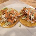 Catfish tacos with chipotle mayo