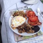 Generous breakfast