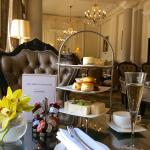 Champagne Afternoon tea @ £36