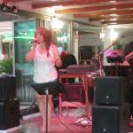Singers at lady Diana,s Beach