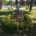 Памятник фанатам Кьево