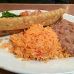 Flauta w/rice & beans