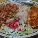 A la carta - 2 enchiladas with rice