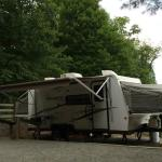 NERI's campsites are awesome...with water, sewer and electrical hookups