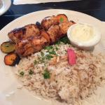 Shish Tawook with rice