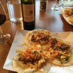 Thai marinated pork tacos special. Fabulous!