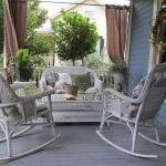 Relax on our beautiful porches