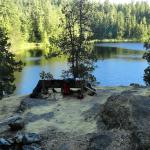 Wednesday Lake Picnic Site...We camped there.