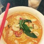 Amazing laksa :) Recommended!