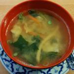 """""""Tori Suppe"""": Hühnerfleisch mit Zitronengras und Champignons"""