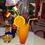 Cocktail auf der Terasse
