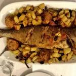 pesce limone al forno