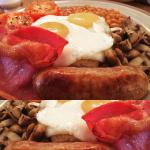 Delicious full English Breakfast