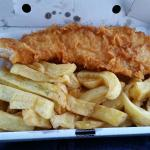 Large Cod and Chips ... apparently