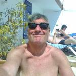 sunbathing - happy days