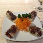 Peking Duck 1st course