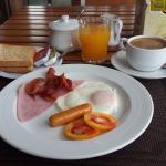 Sirin American breakfast.