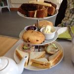 Afternoon tea and the cafe