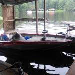 my Boat charging for tonights fishing