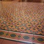 gorgeous old tile floors