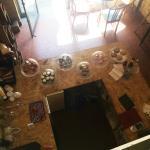 le cadre de la mezzanine