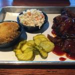 Dinner plate - burnt ends