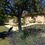 Garden by barn rooms