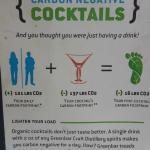 Carbon Negative cocktails