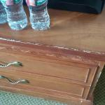 Chest drawer; yes it's beat up