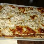 More seafood pizza