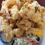 Clam chowder & seafood