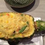 Pineapple stir fry rice...yummy!