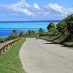 Petite vue de la route traversière, une balade à vélo à faire impérativement !