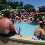 Crazy at the pool