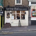 Thai fare on Heath Street in Hampstead