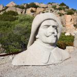 il busto di Germano Ciano