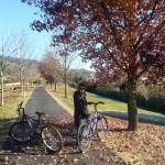 We used the bikes from our BnBto ride the 'Murray to Mountains' Rail Trail to visit Porepunkah,