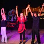Nadine, Tanja and Antonio demonstrate the benefits of using deodorant. Great body popping dance