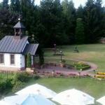St Christoforus kapel in de tuin.